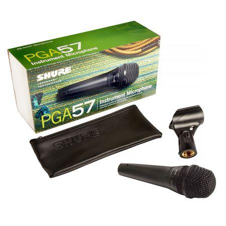 Shure Microfone Vocal Com Fio Pga57lc Garantia 2 Anos