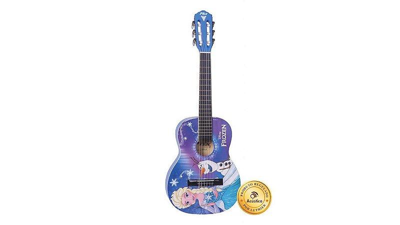 Phx Violão Clássico Nylon 3/4 Infantil Frozen Elsa Olaf VIF1
