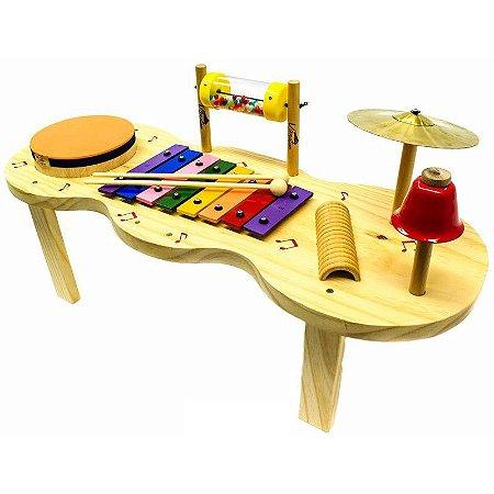 Jog Vibratom Pequena Percussão Baby Madeira P3696