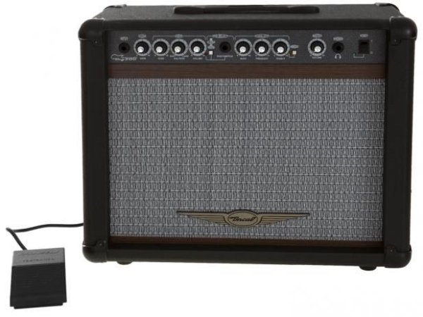 Oneal Amplificador Guitarra c/ Footswitch 60w OCG200CR