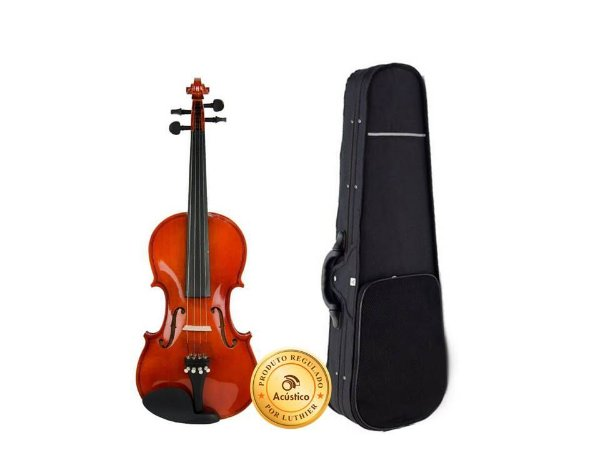 NCL Violino Vignoli 4/4 Linden Escala Ebanizada c/ Estojo VIG144