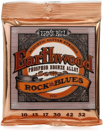 Ernie Ball Encordoamento Violão Aço 012 Earthwood Phosphor Bronze