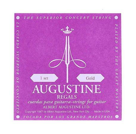 Augustine Jogo De Cordas De Nylon Regal Gold WMS00697
