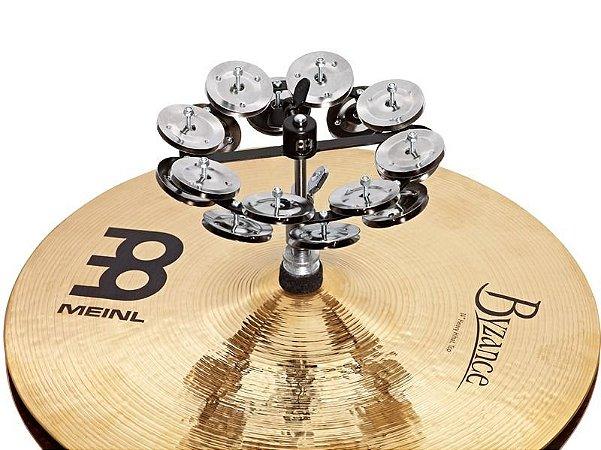 Hihat Tambourine Meinl 32 platinelas metal para chimbal