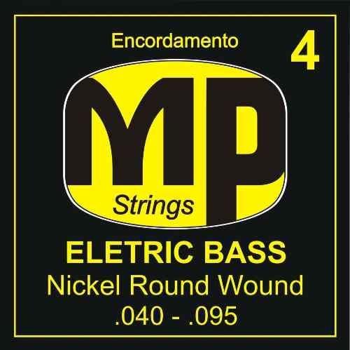 Paganini Jogo De Corda Baixo 4 Cordas Mpe640 .040-.095