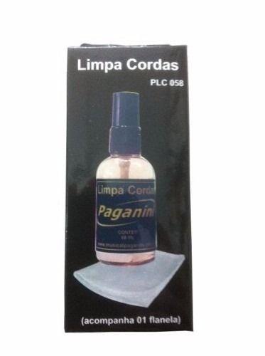 Paganini Limpa Corda PLC058 + Flanela Violão Guitarra PLC058