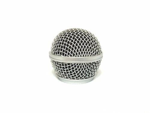 PELL Globo Cromado Grille Microfone Shure Sm58 Sm 58 Beta 58 A 58a 851008