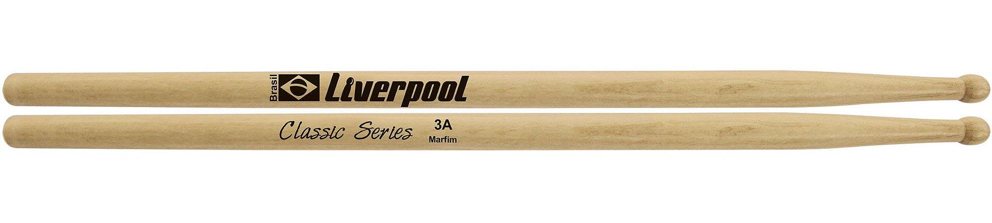 Liverpool Baqueta Classic Series Marfim 3A P.M LL3AM