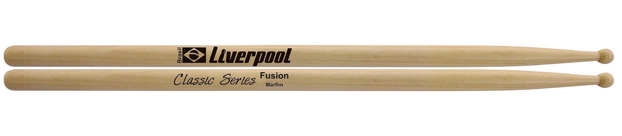 Liverpool Baqueta Classic Series Fusion Marfim P.M LLFUS