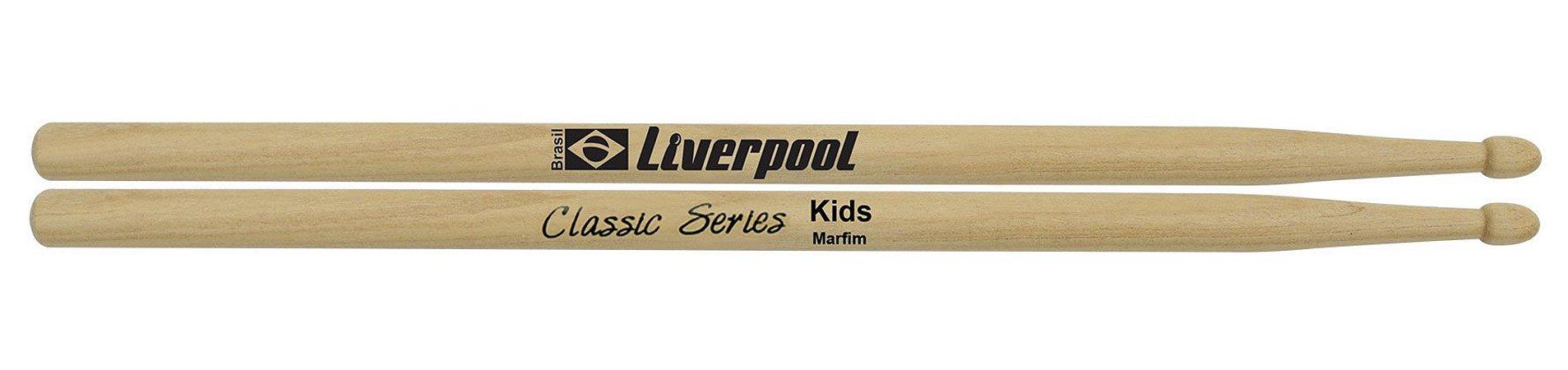 Liverpool Baqueta Classic Series Kids Marfim P.m Llkid
