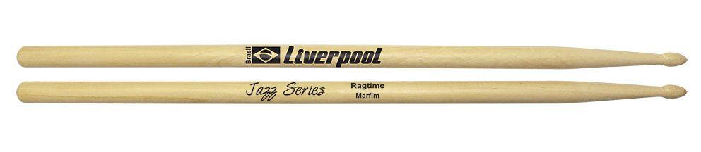 Liverpool Baqueta Jazz Ragtime Marfim Ponta de Madeira Jzrag