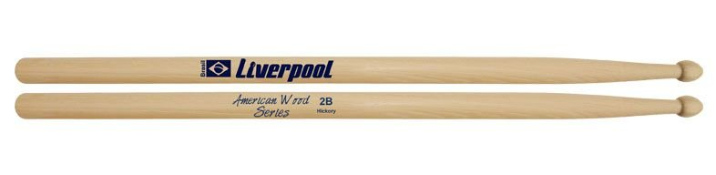 Liverpool Baqueta American Hickory Ponta de madeira 2b Hy2bm