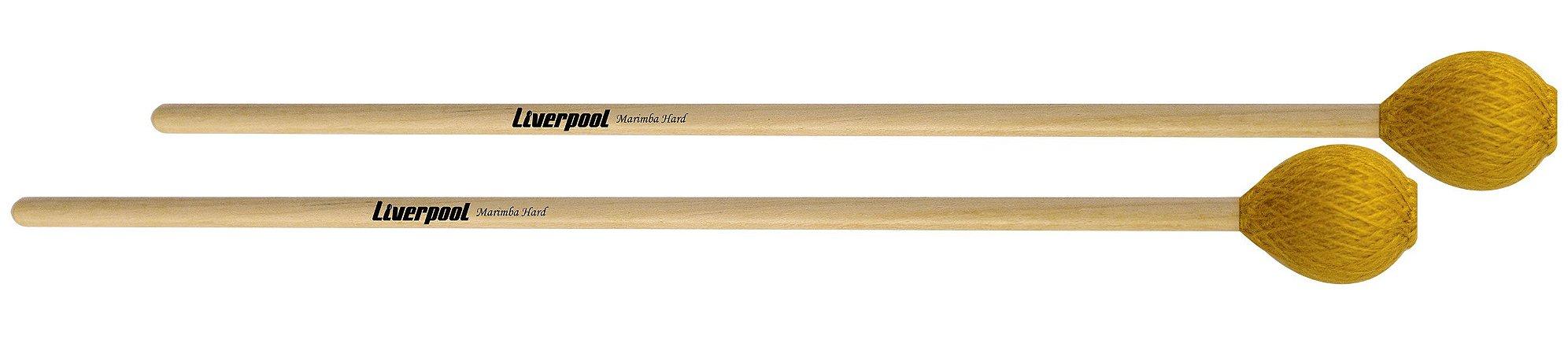 Liverpool Baqueta Para Marimba Hard MBH
