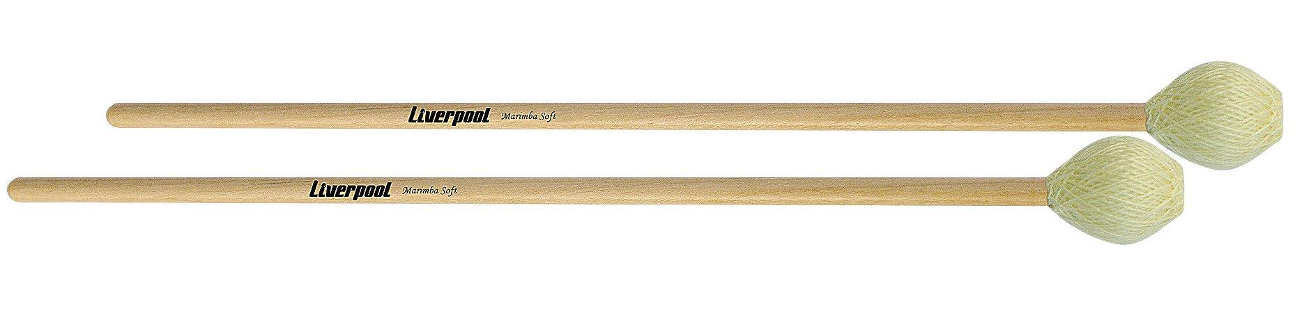 Liverpool Baqueta Para Marimba Soft MBS