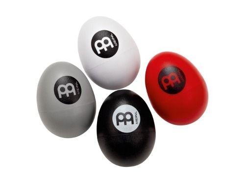 Meinl Egg Shaker Set Ganza Chocalho Ovinho Percussão