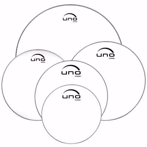 Evans Uno Kit De Pele 12,13,14,16,22 Transparente UPG2CLS22