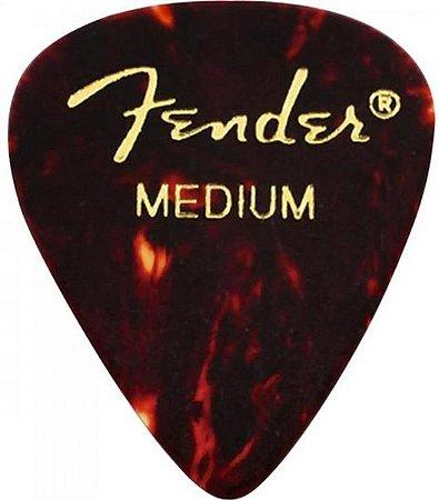 Fender Palheta Medium Celluloid 351 Shape 66294