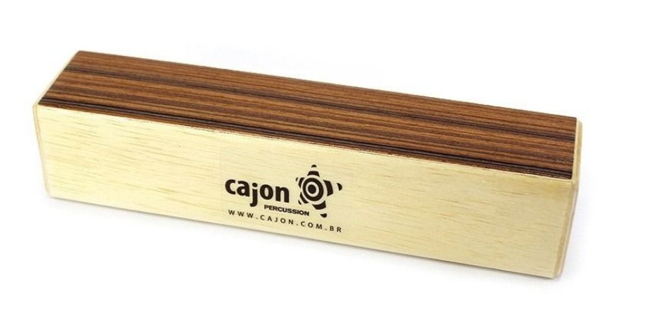 Cajon Percussion Wood Shaker Medium Grande WSMG Ganza