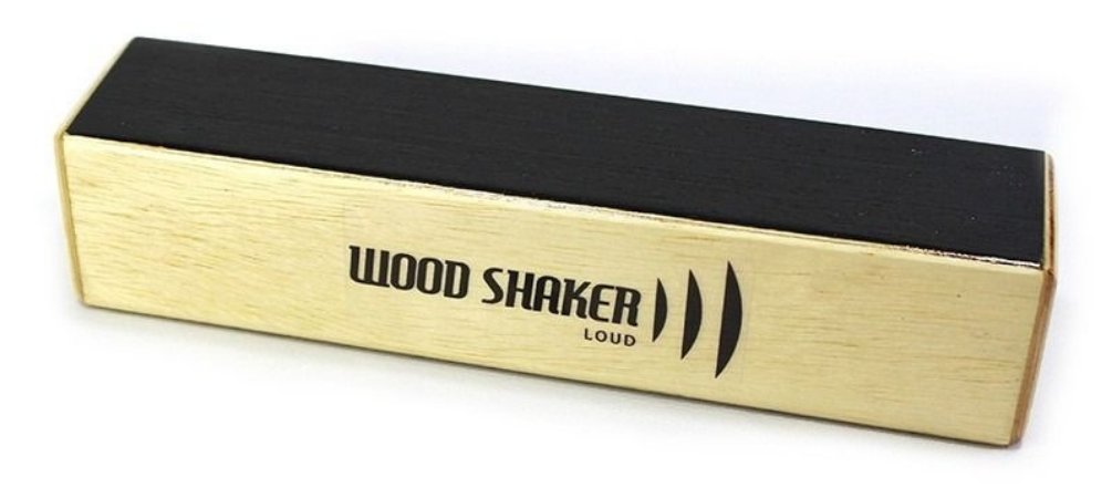Cajon Percussion Wood Shaker Loud Grande WSLG Ganza Chocalho