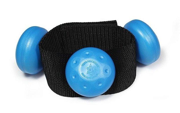 Cajon Percussion Leg Shaker Medium Azul Claro LSMAC Ganza