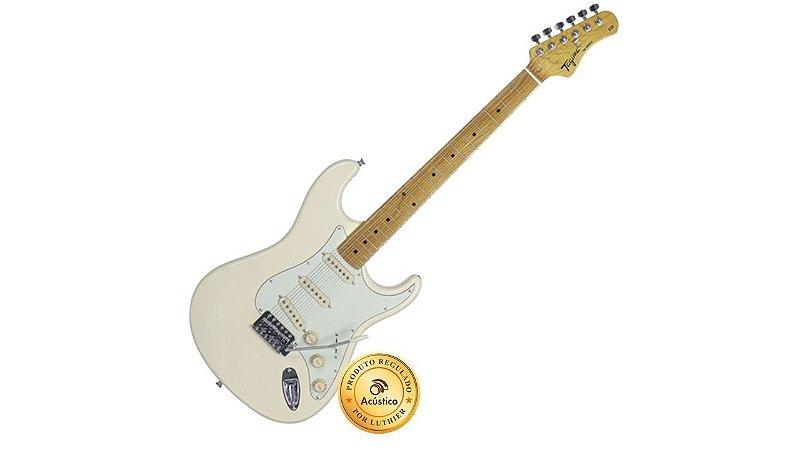 Tagima Guitarra Stratocaster Branca TG-530WV Woodstock