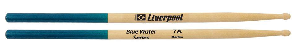 Liverpool Baqueta Blue Water Marfim 7a Ponta Madeira NAU7AM
