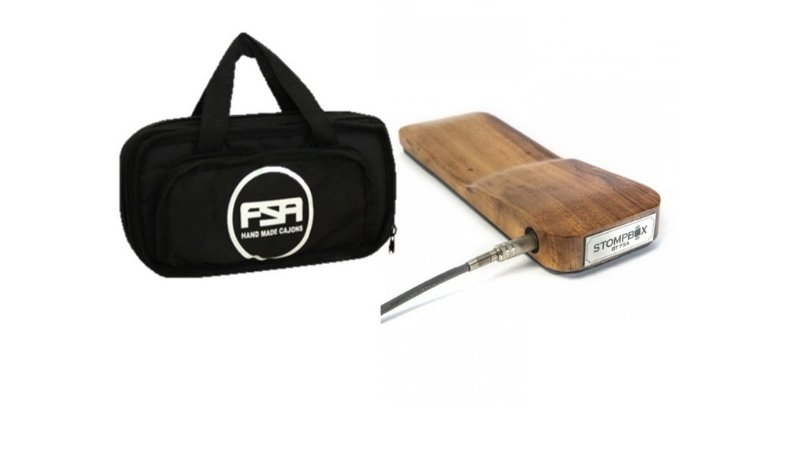 FSA Stomp Box Pedal Efeito Bumbo Com Bag  Fsb7070