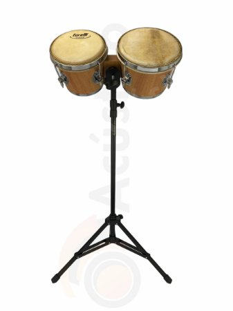 Kit Torelli Bongo Natural TB010NA Com Pedestal HPB01