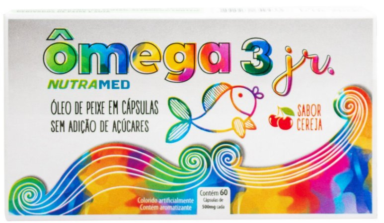 Ômega 3 Junior - 60 Cápsulas