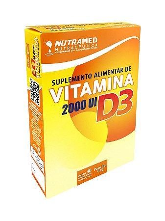 Vitamina D3 2000 UI - 30 Comprimidos