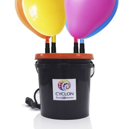 Inflador Profissional de Balões 4 Bicos Cyclon