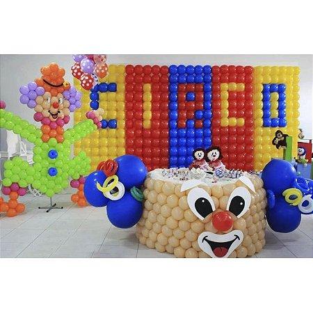 Kit De 8 Telas Dobráveis Para Painel De Balões