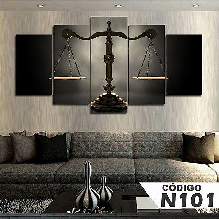 Quadro Balança Justiça advogado direito