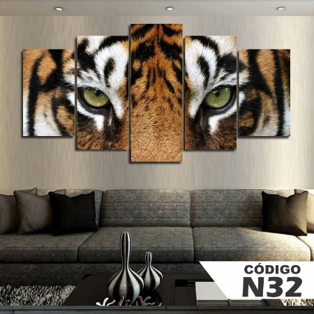 Quadros decorativos tigre