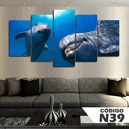 Quadros decorativos golfinho