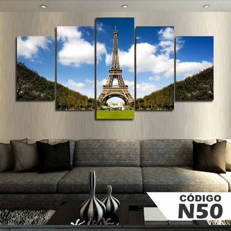 Quadros decorativos paisagem paris torre eiffel