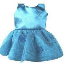 Vestido Boneca Azul Festa