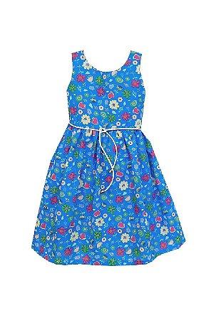 Vestido Petit Royal Flores