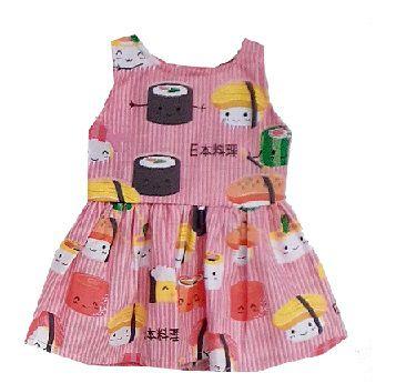 Vestido Boneca Sushi