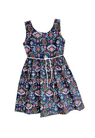 Vestido Petit Fantasy Marinho