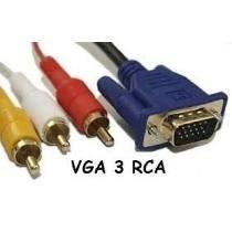 CABO VGA X 3 RCA