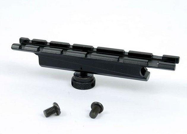 Adaptador para Alça de Transporte de M4 / M16 para Fixação de Sistemas de Mira