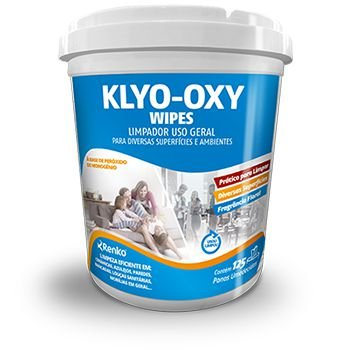 KLYO OXY FLORAL - WIPES 125 PANOS
