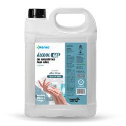 ALCOOL GEL  RENKO - 5 L com Aloe Vera