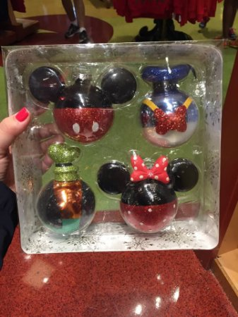 Ornamentos Bola de Natal Disney Parks