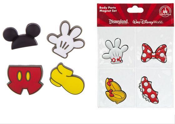 Ima Body Parts Mickey e Minnie - Escolha Abaixo