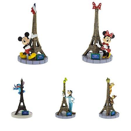 Torre Eiffel e Personagens - Escolha o seu