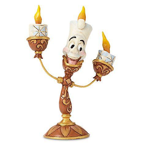 Lumiere Bela e a Fera figurine by Jim Shore