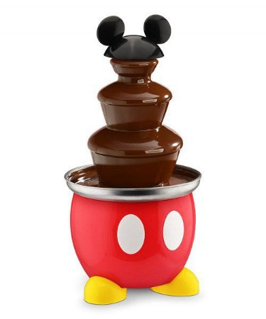 Cascata de Chocolate Mickey