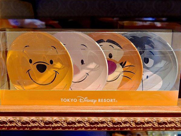 Conjunto de pratos Pooh